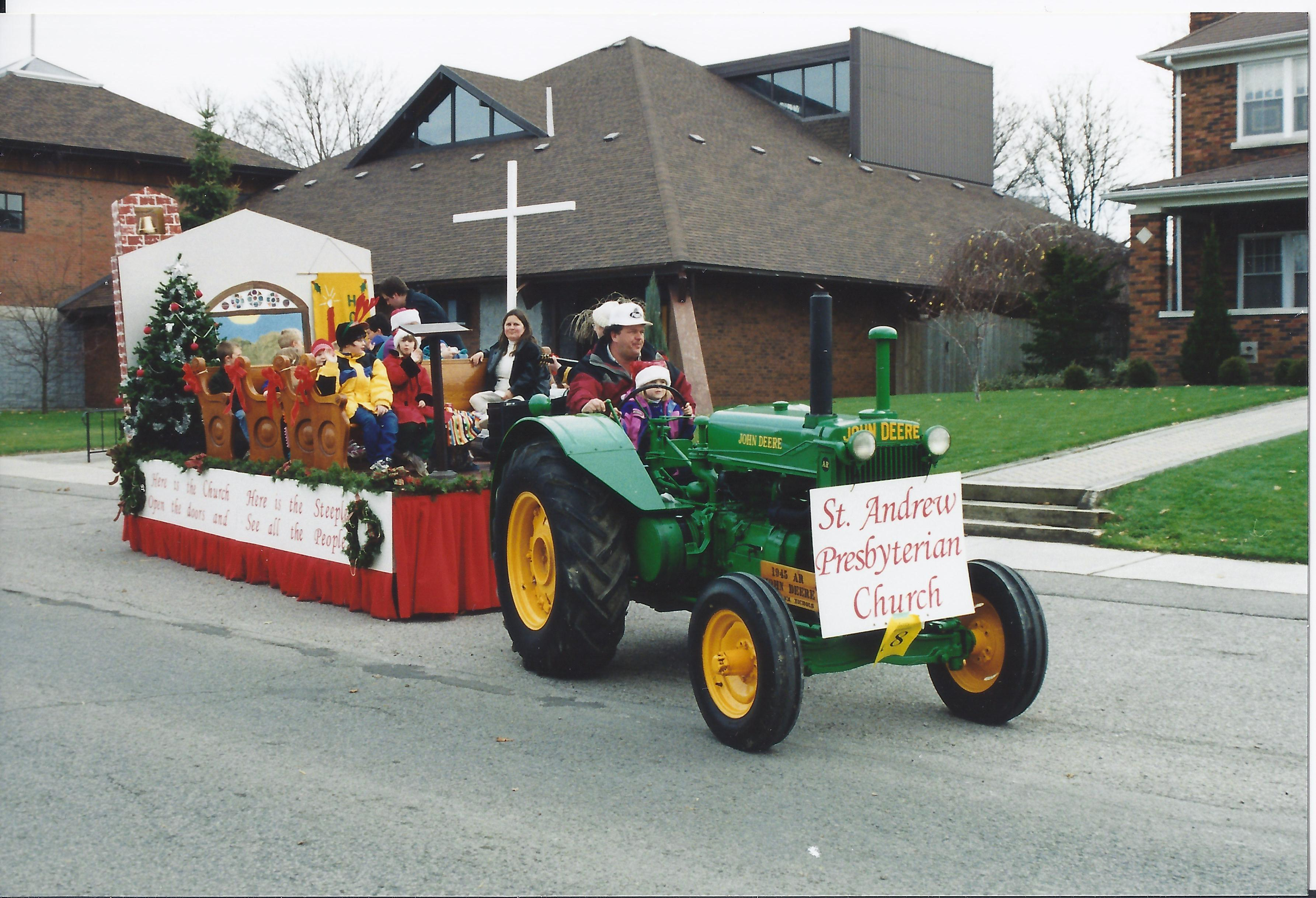 Church Parade Float Ideas http://bloomingreverend.com/2011/11/20/everyone-loves-a-parade/